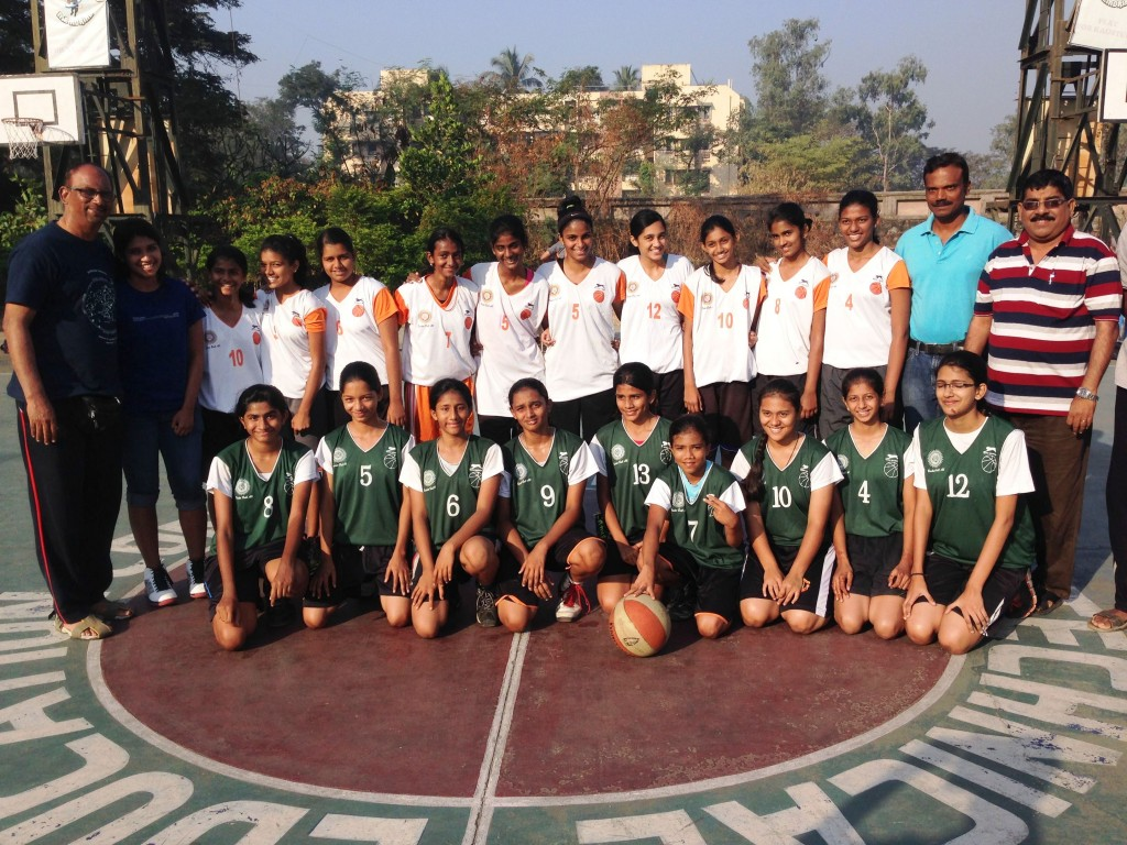 St Anthony's and Fr. Agnel girls teams