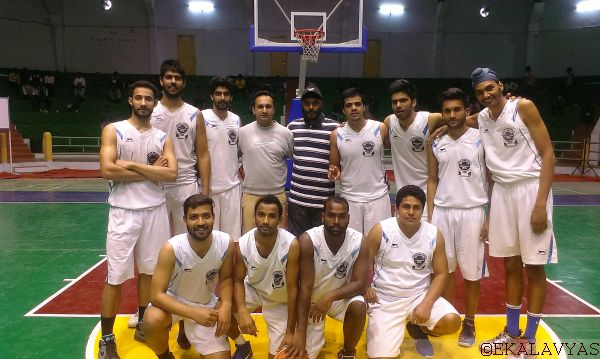 The Punjab University Chandigarh team. Copyright Ekalavyas.