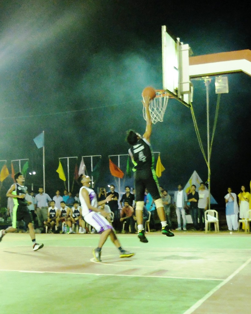 Action from the tournament.