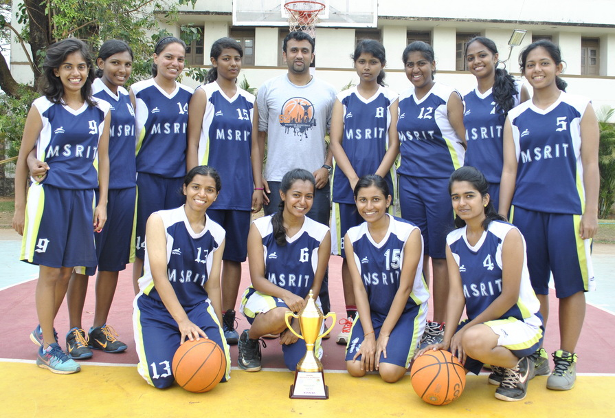 MSRIT women's basketball team