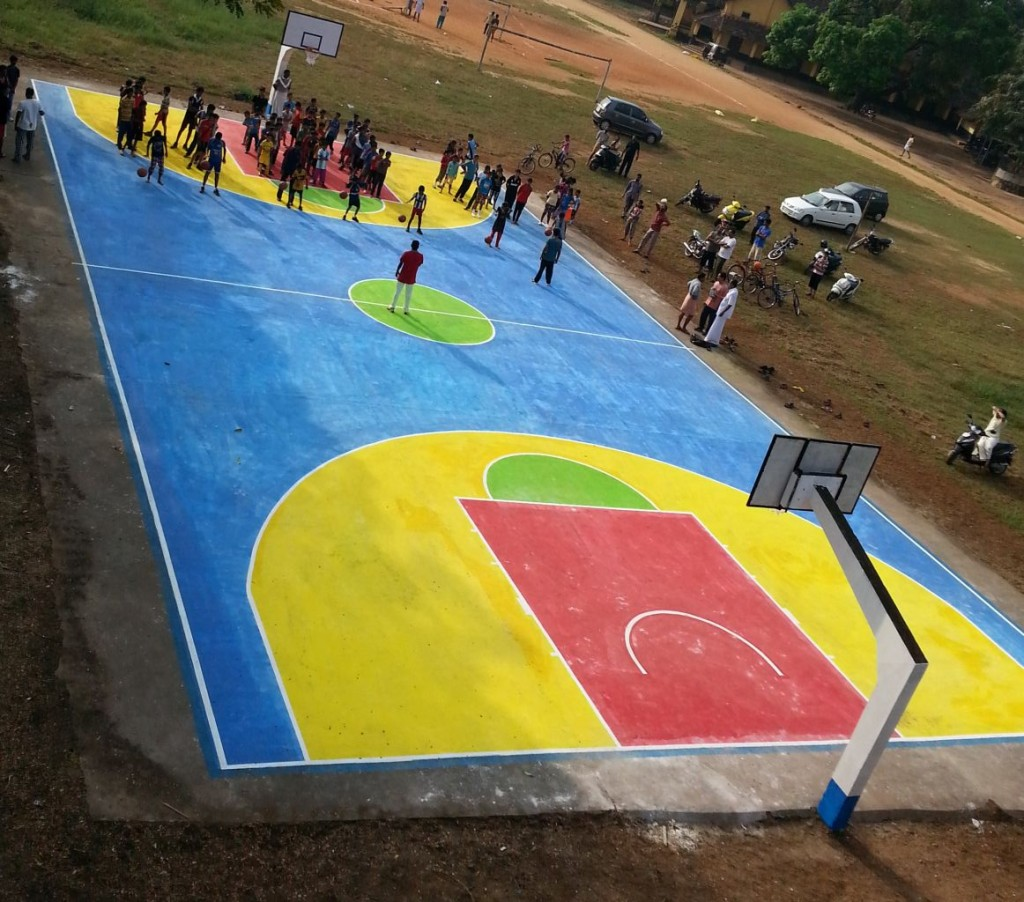 Nileshwar Court at Rajas High School, Kasargod.
