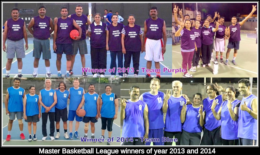 Masters Basketball League 2015
