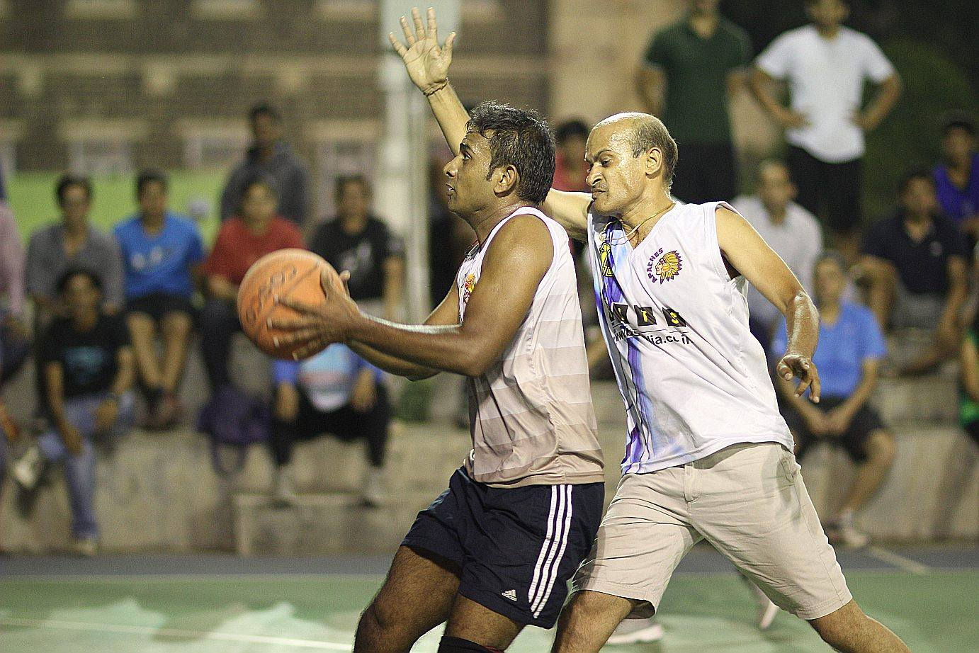 Masters Basketball League Day 5