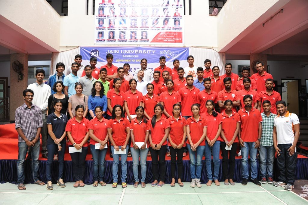 Jain University Bengaluru Sports Felicitation 2015