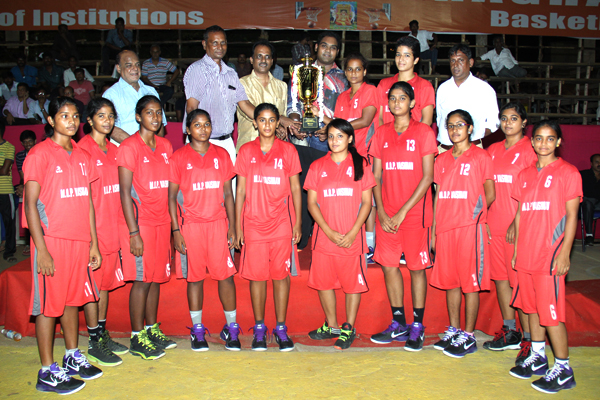 Chennai All India Inter College Basketball Tournament- MOP Vaishnav and SB College teams triumph