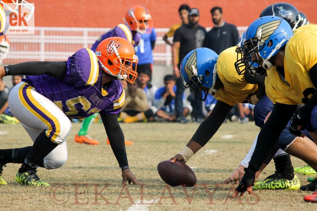 JECRC University, Jaipur (in yellow) vs Kolkata University (purple). Photographer: Adarsh Rao