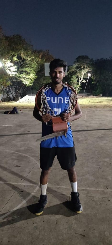 Yousuf Sayyed 80 points_ Indian College Baller