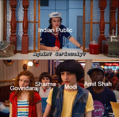 Stranger Things Indian Basketball Indian Politics